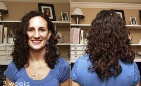 hairstyle thin frizzy dead ends short medium length help quick and easy curly girl method before and after a steed s life