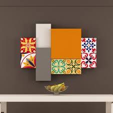 tile decals for kitchen backsplash italian tiles stickers pack of 18 tiles tile decals for