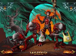 james f beveridge guild wars halloween 2k5 wallpaper