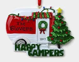 camper ornament etsy