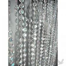 diamond party supplies 3 u0027 x 12 u0027 foot beaded curtain panels iridescent crystal diamond