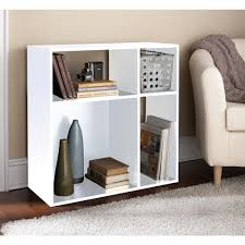 Mainstays 3 Shelf Bookcase White Open Bookcase Es208609a The Home Depot