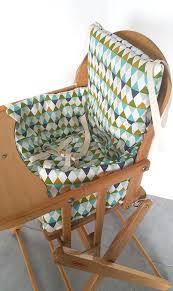 coussin chaise haute avec sangle coussin chaise haute combelle pour chaise coussin chaise haute