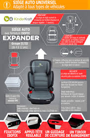 location siège bébé expander isofix siège auto de 15 à 36 kg groupe ii iii