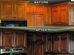 kitchen cabinet refinishing before and after reface cabinets reface kitchen cabinets before after refacing