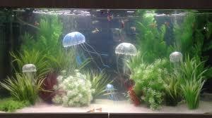 jbl medusa fish tank jelly fish decoration