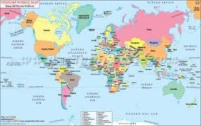 map of world world map in