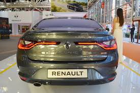 renault sedan 2016 renault megane sedan rear at 2016 bologna motor show indian