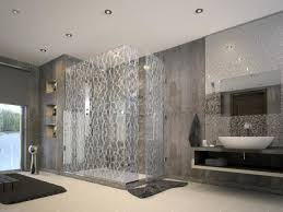 glass bathroom tile ideas bathroom fantastic modern small bathroom decoration using grey