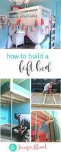 how to build a loft bed for a girls bedroom jennifer allwood