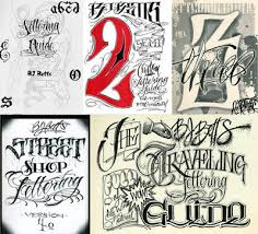 the bj betts lettering combo 5 pack tattoo education