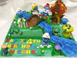 smurf village cakecentral com