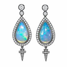 green opal earrings around the world in luxury jewellery ethiopian wello opals the