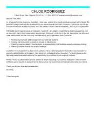 business executive cover letter examples programming