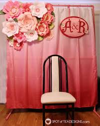 diy photo backdrop diy party backdrop stand guest post spot of tea designs