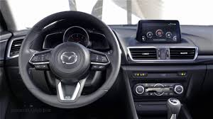 mazda interior 2016 2017 mazda 3 hatchback interior youtube