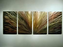 amazon com metal wall art modern home decor abstract wall