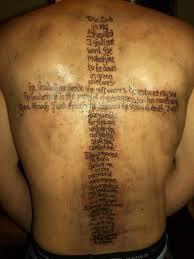 psalm 23 designs tattoos psalm 23