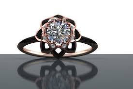 ceramic diamond rings images Half carat darkened star diamond ring with halo horrific finds jpg