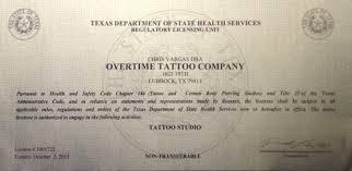overtime tattoo company google