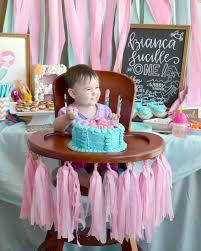 baby bday birthday mermaid party brie brie blooms
