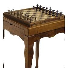 Chess Table Chess Table With Drawer For Pieces Aboca E Shop