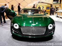 bentley exp 10 bentley exp 10 concept front view at 2015 geneva motor show
