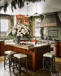 modern pendant lights in montana mountains featured in elle decor