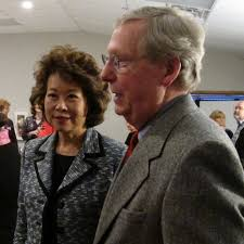 mitch mcconnell and elaine chao sq babaimage