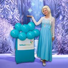 frozen themed party entertainment queen elsa lookalike party brilliant birthdays