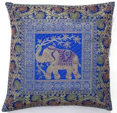 Throw Pillow Covers Online India Amazon Com 10 Pc Lot Square Silk Home Decor Cushion Cover Indian
