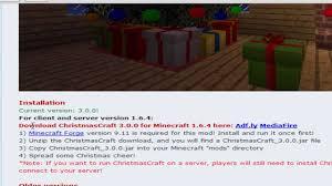 minecraft christmas craft installation 1 7 5 deutsch hd