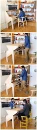 Keller Expandable Reception Desk Build Your Own Expanding Table Plans Composite Diy Ideas