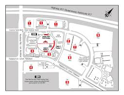 Bell Centre Floor Plan Parking Canadian Tire Centre
