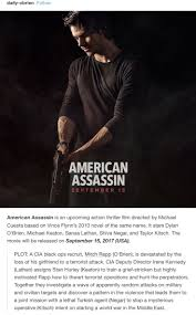 31 best american assassin images on pinterest mitch rapp