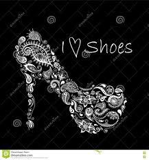 patterned shoes batik doodle zentangle design it may be used