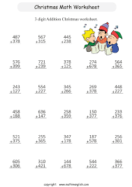 printable christmas division worksheet for grade 2 students