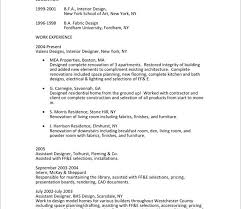 download interior design engineer sample resume