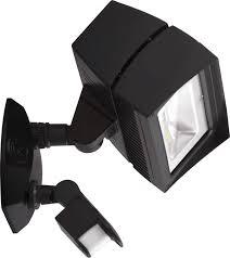 rab led motion sensor light rab ffled18 18w led motion sensor flood light with mini sensor