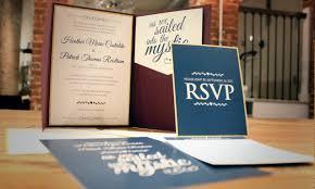 pocket invitations cranberry navy blue and gold pocket wedding invitations sofia