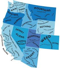 Western Montana Map by The West The Stereotype Map Of Every U S State U2014 According To