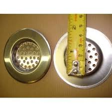 Sink Strainer Plug Plughole Guard Stainless Steel Amazoncouk - Kitchen sink drainer plug