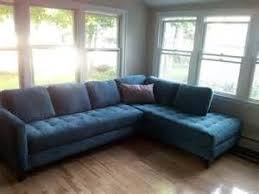 Blue Leather Sofa by Best 20 Small Leather Sofa Ideas On Pinterest Furniture Decor