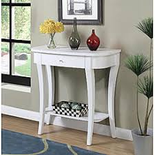 convenience concepts savannah console table red sofa tables sears