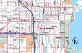 chicago map to chicago union station