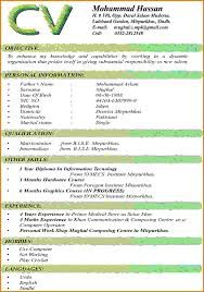 Best Resume Format Word File by Latest Cv Format 2016 In Ms Wordreference Letters Words