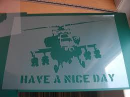 banksy home decor banksy stencils happy chopper have a nice day banksy chopper