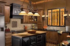 kitchen light fixtures flush mount black granite countertop long