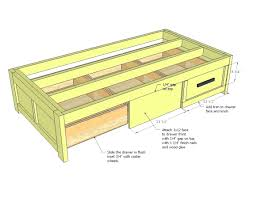 diy daybed with trundle diy daybed frame with storage storage designs