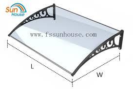 Polycarbonate Window Awnings Polycarbonate Awning Brackets Polycarbonate Window Awning Front